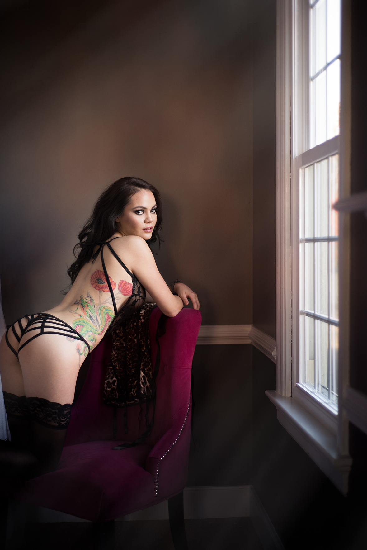 Professional boudoir and portrait photography in Richmond, VA